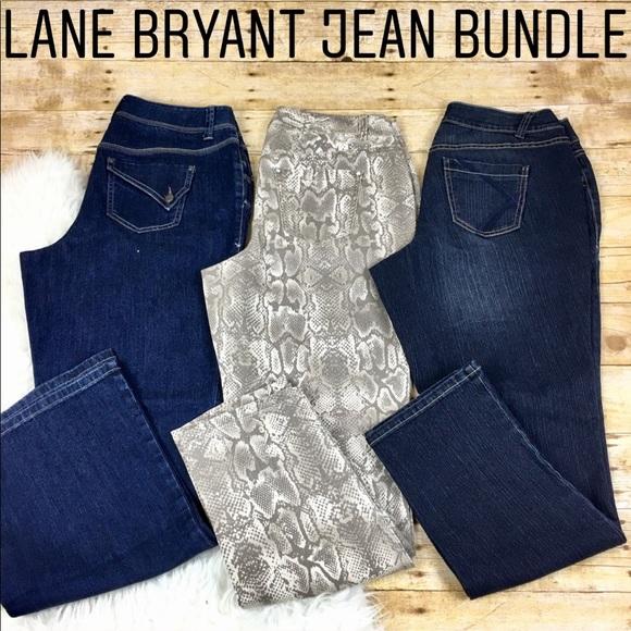 096911df03a Lane Bryant PLUS SIZE 14 Jean Bundle